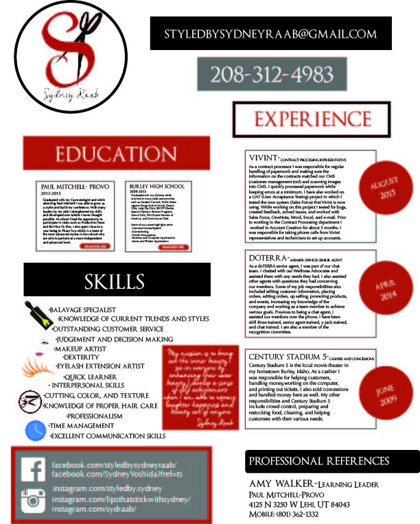professional resume building